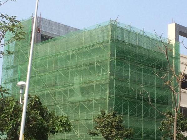 鋼網牆 速固牆 商辦新建工程