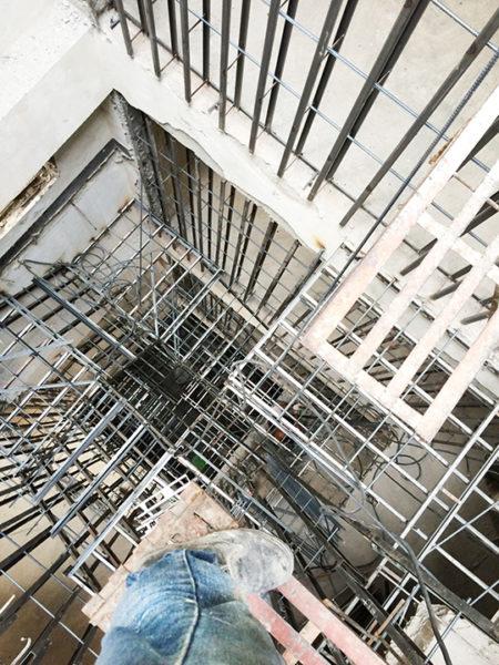 金昱勝SRC鋼網牆 推薦 台中房屋修繕-修繕樓梯-電梯增建工程 (2)