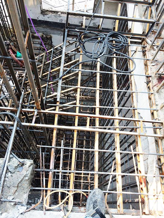 金昱勝SRC鋼網牆 推薦 台中房屋修繕-修繕樓梯-電梯增建工程