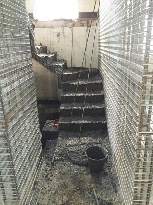 金昱勝SRC鋼網牆 推薦 台中房屋修繕-修繕樓梯-電梯增建工程0972346321 (2)