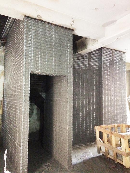 金昱勝SRC鋼網牆 推薦 台中房屋修繕-修繕樓梯-電梯增建工程0972346321
