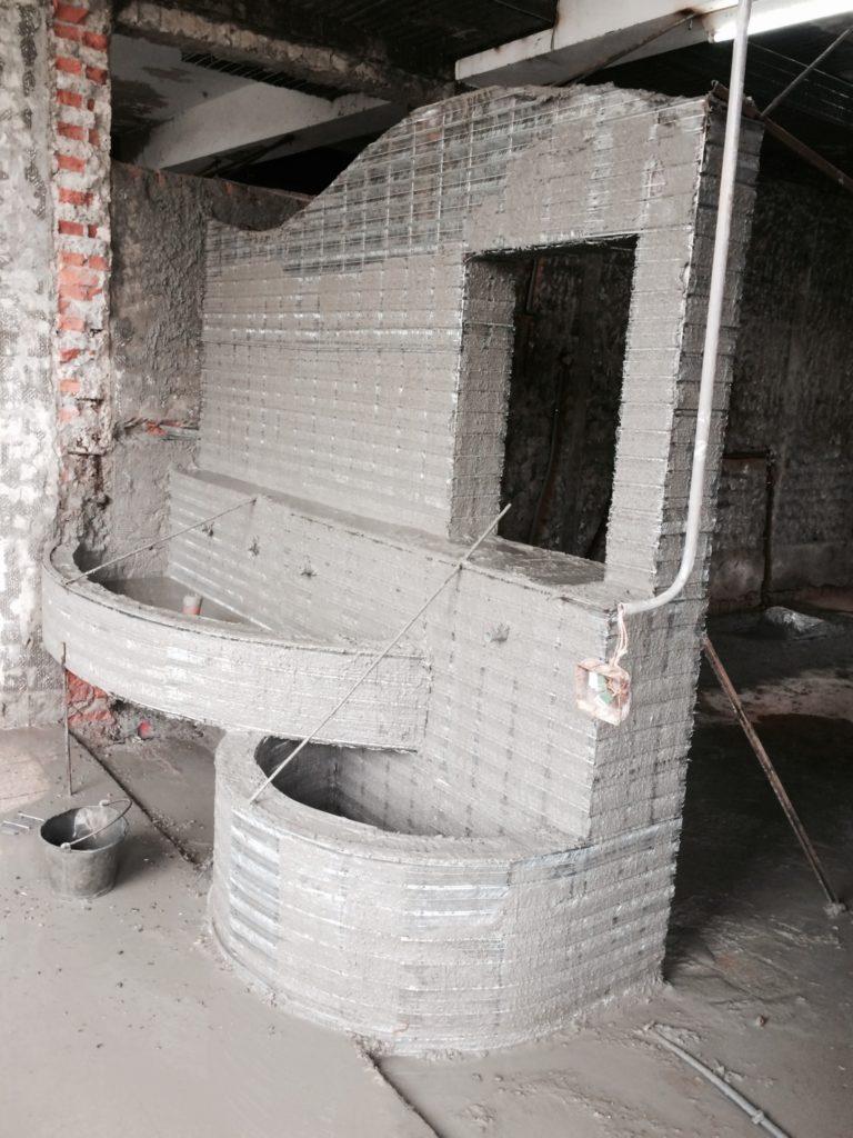 鋼網牆-學校修繕降板工程-金昱勝-0972-346321