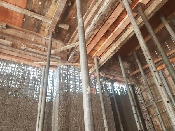 鋼網.板模結合工法3