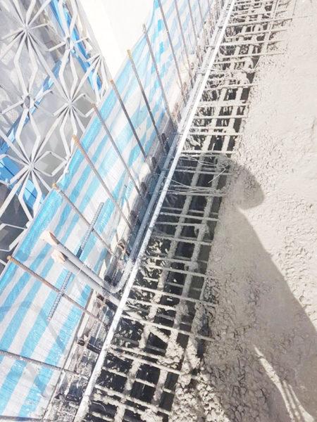 鋼網.板模結合工法7