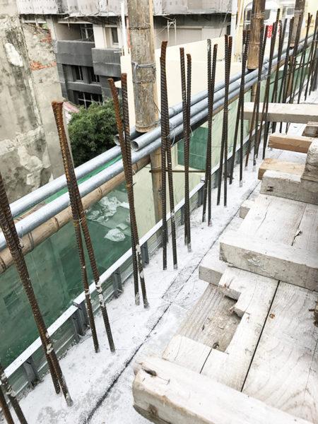 鋼網.板模結合工法9