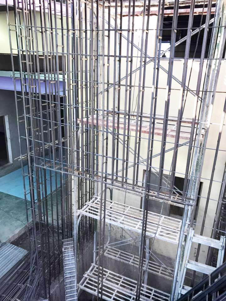 電梯增建工程9.11-金昱勝SRC鋼網牆-0972346321