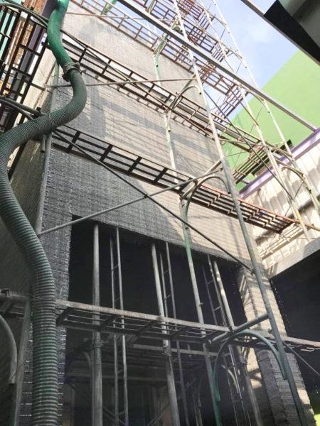 電梯增建工程9.12-金昱勝SRC鋼網牆-0972346321