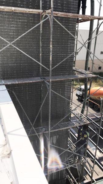 電梯增建工程9.18-金昱勝SRC鋼網牆-0972346321