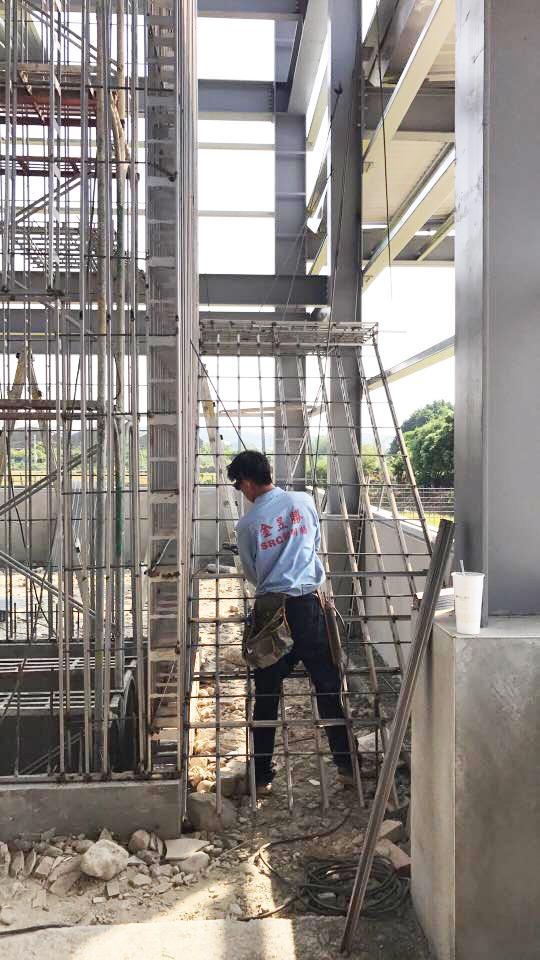 電梯樓梯興建工程-金昱勝SRC鋼網牆-0972346321