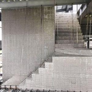 電梯樓梯興建工程-金昱勝SRC鋼網牆6