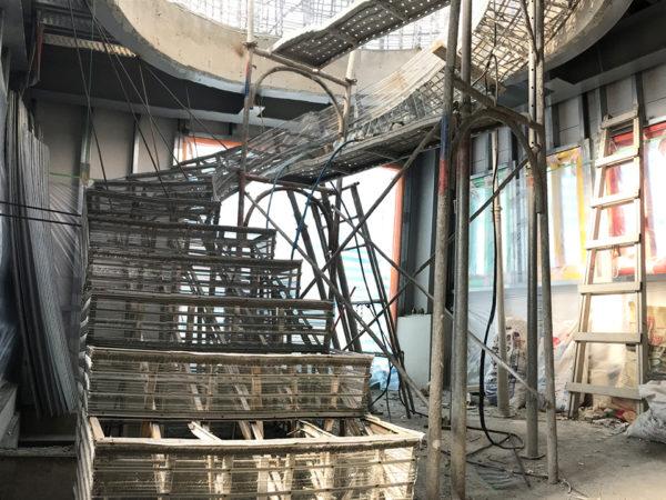 造型樓梯 金昱勝鋼網牆